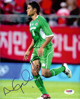Aaron Galindo Autographed 8x10 Photo Mexico PSA/DNA