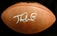 Jake Locker Autographed NFL Leather Football Tennessee Titans PSA/DNA Stock