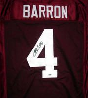 Mark Barron Autographed Alabama Crimson Tide Red Jersey PSA/DNA RookieGraph Stock