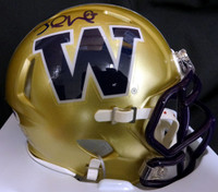 Jake Locker Autographed Washington Huskies Speed Mini Helmet PSA/DNA Stock