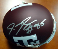 Red Bryant Autographed Texas A&M Aggies Mini Helmet MCS Holo
