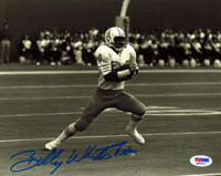 "Billy ""White Shoes"" Johnson Autographed 8x10 Photo Houston Oilers PSA/DNA Stock #16572"