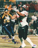 Michael Turner Autographed 8x10 Photo Northern Illinois PSA/DNA #S35565