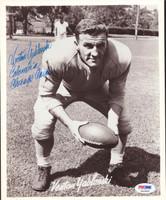 Venton Yablonski Autographed 8x10 Photo Chicago Cardinals PSA/DNA #S43626