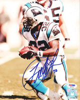 Fred Lane Autographed 8x10 Photo Panthers PSA/DNA