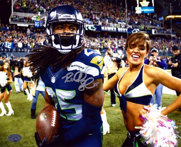 Richard Sherman Autographed 8x10 Photo Seattle Seahawks RS Holo Stock