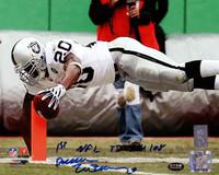 "Darren McFadden Autographed 8x10 Photo Oakland Raiders ""1st NFL TD 9/14/08"" DM Holo Stock"