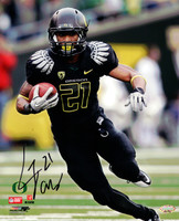 LaMichael James Autographed 8x10 Photo Oregon Ducks MCS Holo Stock