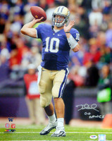 "Jake Locker Autographed 16x20 Photo Washington Huskies ""Go Dawgs"" PSA/DNA RookieGraph Stock #16381"