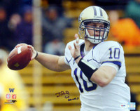 "Jake Locker Autographed 16x20 Photo Washington Huskies ""Go Dawgs"" PSA/DNA RookieGraph Stock #16384"