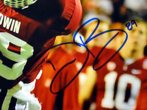 Doug Baldwin Autographed 16x20 Photo Stanford Cardinal