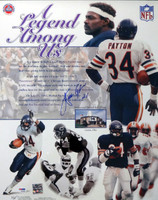 Walter Payton Autographed 16x20 Photo Chicago Bears PSA/DNA