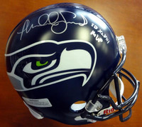 "Malcolm Smith Autographed Seattle Seahawks Full Size Super Bowl Helmet ""SB XLVIII MVP"""