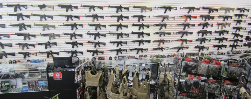 Minnesota Airsoft Store Twin Cities Retail Showroom Airsoft Guns