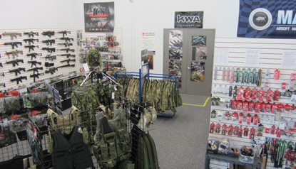 Airsoft Station Showroom