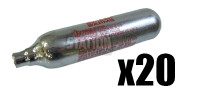 Swiss Arms 12G CO2 Cartridges, 20 Pack - GROUND SHIPPING ONLY