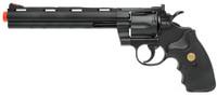 "UHC Airsoft Revolver 8"" Barrel - Black"
