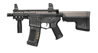 "ARES Amoeba 6"" Stubby M4 CQB Black Airsoft Rifle"