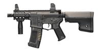 "ARES Amoeba 6"" Stubby M4 CQB Black Airsoft Rifle"