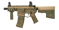 "ARES Amoeba 6"" Stubby M4 CQB Tan Airsoft Rifle"