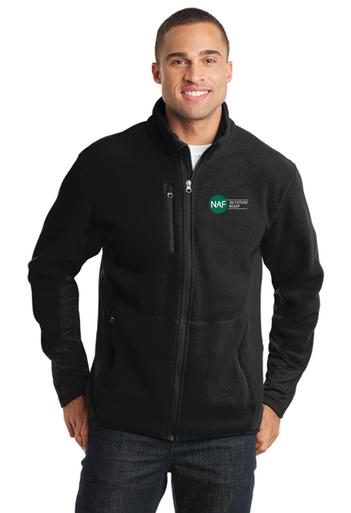 Embroidered Pro Fleece Full Zip Jacket