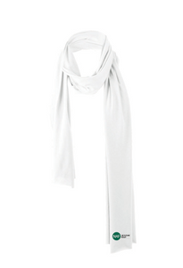 Embroidered Cotton Blend Scarf