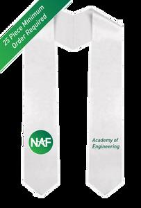 Printed NAF AOE Graduation Stole