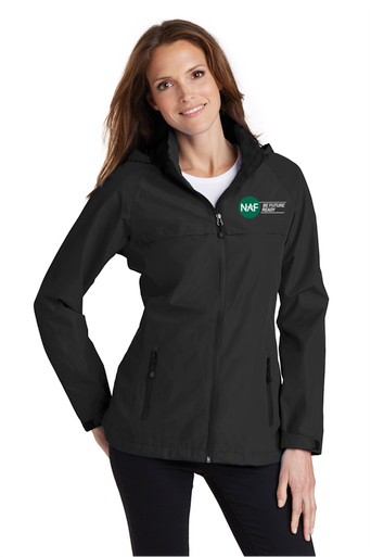 Embroidered Womens Torrent Rain Jacket