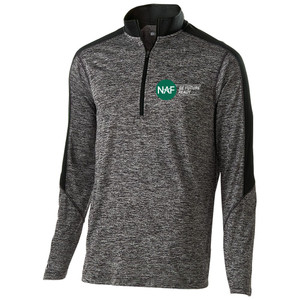 Men's 1/2 Zip Electrify Pullover (Black)