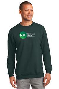Essential Fleece Crewneck Sweatshirt (Green)