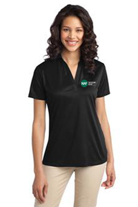 Ladies Silk Touch Performance Polo (Black)