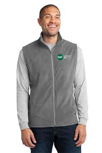 Embroidered Micro Fleece Vest