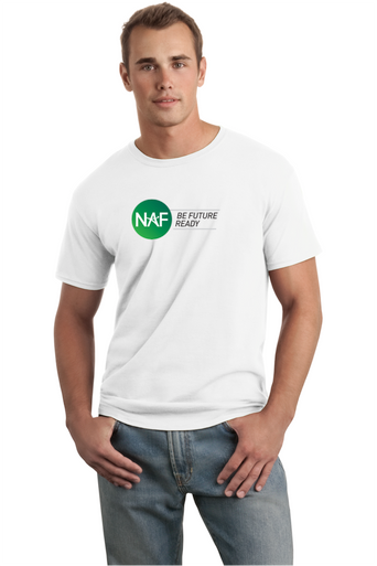 Adult SoftStyle White T-shirt