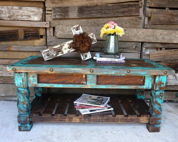 El Dorado Coffee Table Sofia S Rustic Furniture