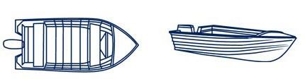 Open Aluminium Boat Covers