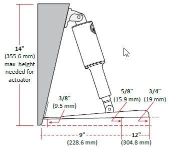 Trim Tab Kits Standard Mount