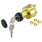 Ignition switch marine 4 position