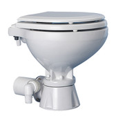 Electric toilet system compact silent with 3 button swicth panel