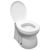 Electric marine toilet luxury home style 12v standard bowl