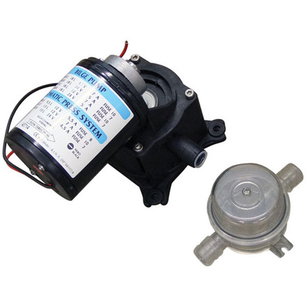 Matromarine diaphragm pumps australia for Shurflo piranha replacement motor cartridges