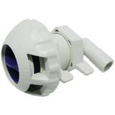 Fill valve livewell full port