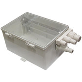 Catchment tray grey water