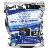 Tss portable toilet holding tank sanitation deodorise sachets