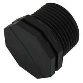 Polyethylene bsp male plugs end caps