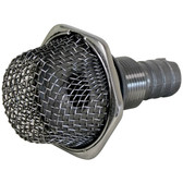 316g stainless steel thru hull mesh strainer