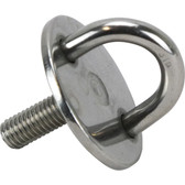 Stainless steel round pad eye with bolt 316 grade