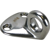 Stainless steel universal fender eye 316 grade