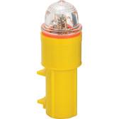 White red xenon strobe net light single battery