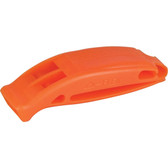 Plastic pealess whistle