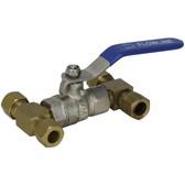 Hydraulic fluid link valve
